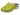 Träskor Flower 5B PU limegrön lack