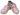 Barnträskor Sakura pink