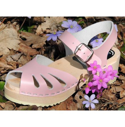 Barnträskor Butterfly Mini Rosa