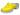 Träskor Flower 1B PU Gul lack